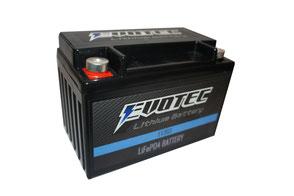 EVOTEC リチウム軽量バッテリー EV3601枚目