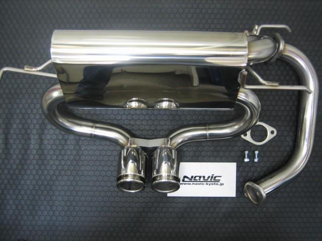 ホンダ S660 ナビック 保安基準適合品オリジナルマフラー 1枚目